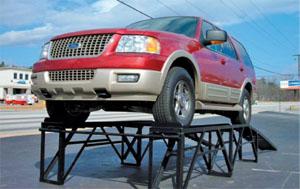 vehicle ramp displays
